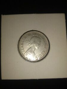 1962 25C CANADA 25 CENTS SILVER CANADIAN QUARTER SILVER