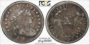 1803 H10C DRAPED BUST HALF DIME SMALL 3 VF 30 PCGS ONLY 30 ESTIMATED TO EXIST