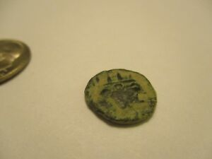 COIN ROMAN IMPERIAL UNCLEANED THE PROFILE COIN 316