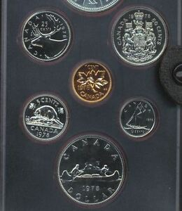 1978 PROOF LIKE CANADA HALF DOLLAR 50 CENTS FROM THE 1978 PL SET