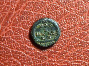 BUST OF ROMAN EMPEROR AE11 ROMAN COIN TO IDENTIFY
