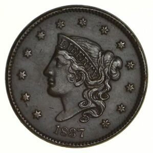 1837 YOUNG HEAD LARGE CENT   NEAR UNCIRCULATED  5568