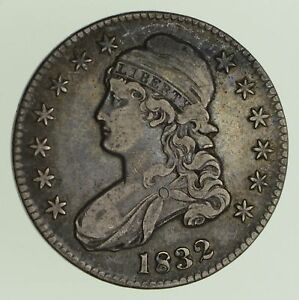 1832 CAPPED BUST HALF DOLLAR   CIRCULATED  0435