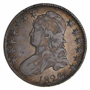 1826 CAPPED BUST HALF DOLLAR   CIRCULATED  9045