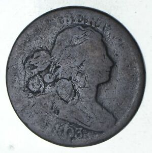 1803 DRAPED BUST LARGE CENT   CIRCULATED  9241