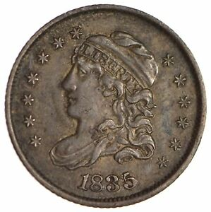 1835 CAPPED BUST HALF DIME   CIRCULATED  1708