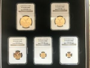 Click now to see the BUY IT NOW Price! 2013 GOLD MEXICO LIBERTAD 5 PIECE COIN SET GRADED NGC PROOF 70