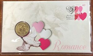 2014 ROMANCE PNC WITH $1 COIN FROM TUVALU