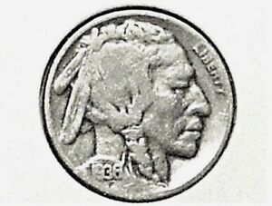 1936D BUFFALO NICKEL GOOD