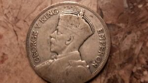 1934 ONE FLORIN NEW ZEALAND