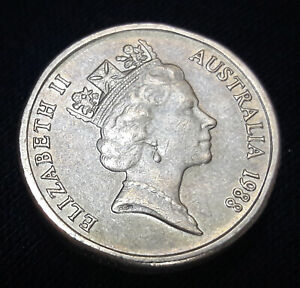 AUSTRALIA 2 DOLLAR COIN  1988  UNGRADED CIRCULATED