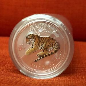 Click now to see the BUY IT NOW Price! 20X 2010 PERTH MINT 1/2OZ TIGER LUNAR .999 SILVER COLORIZED BULLION COIN 0.5 1/2