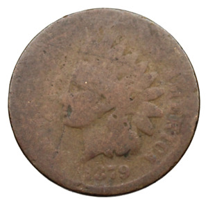 INDIAN HEAD CENT 1879   SEMI KEY DATE