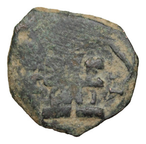 POST MEDIEVAL SPAIN. PHILIP III 2 MARAVEDIS CASTLE / LION