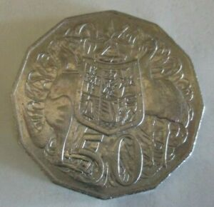 2012 KANGAROO & EMU COAT OF ARMS   AUSTRALIAN FIFTY / 50 CENT COIN   CIRCULATED