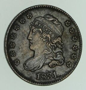 1831 CAPPED BUST HALF DIME   CIRCULATED  4763