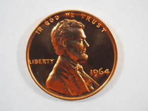 1964 P LINCOLN MEMORIAL CLAD PENNY PROOF CENT US COIN PROOF  PF    SKU 98USPCL