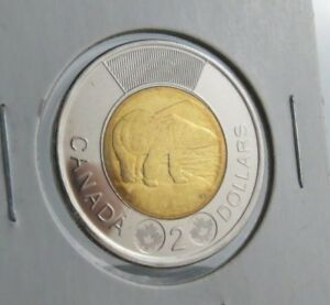 2012 CANADA TWOONIE CIRCULATION $2 LASER ETCHING DIRECT FROM MINT ROLL