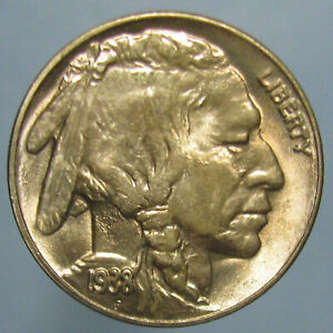 Click now to see the BUY IT NOW Price! 1938 D BUFFALO NICKEL   BEAUTIFULLY TONED GEM BU