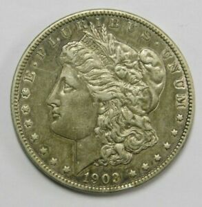 Click now to see the BUY IT NOW Price! 1903 SILVER MORGAN DOLLAR BETTER YEAR CHECK PICS