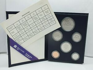CANADA 1985 PROOF SET 6 COIN   ROYAL CANADIAN MINT SPECIMEN & COA   LE648