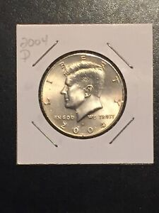 1 COIN  2004 D KENNEDY HALF DOLLAR.  NIFC CIRCULATED COIN