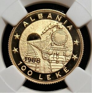 Click now to see the BUY IT NOW Price! ALBANIA: GOLD PROOF