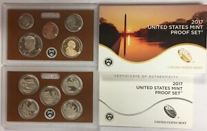 2017 S US PROOF SET IN ORIGINAL GOVERNMENT PACKAGING