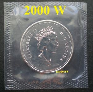 2000 W  SPECIAL EDITION  PROOF LIKE 10 CENTS   IN MINT SEALED CELLO