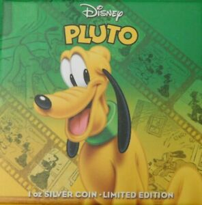 Click now to see the BUY IT NOW Price! NIUE 2014 $2 DISNEY MICKEY & FRIENDS 2014 PLUTO 1 OZ SILVER PROOF COIN