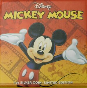 Click now to see the BUY IT NOW Price! NIUE 2014 $2 DISNEY MICKEY & FRIENDS 2014 MICKEY MOUSE 1 OZ SILVER PROOF COIN