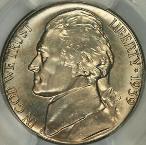 Click now to see the BUY IT NOW Price! 1939 S REVERSE OF 1940 JEFFERSON NICKEL PCGS MS67FS   TOP POP