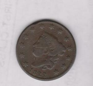 1822 LARGE PENNY  GOOD DETAIL/COLOR   CLOSEOUT PRICE