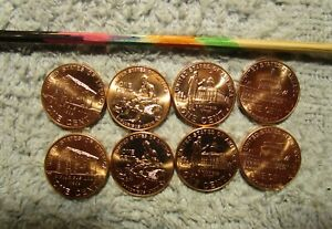 2009 P&D COMPLETE SET LINCOLN BICENTENNIAL  PENNY  8  COIN SET ALL B.U COINS