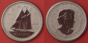 SPECIMEN 2013 CANADA 10 CENTS FROM MINT'S SET