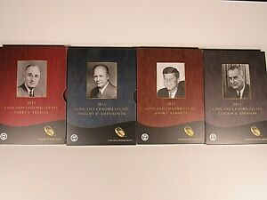 2015 COIN AND CHRONICLES SETS TRUMAN EISENHOWER KENNEDY JOHNSON IN O.G.P.