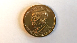 2013 D WOODROW WILSON DOLLAR UNCIRCULATED FROM US MINT ROLL