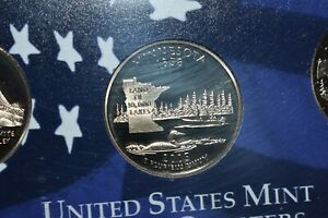 2005 PROOF  MINNESOTA QUARTER FROM U S MINT 5 COIN PROOF SET