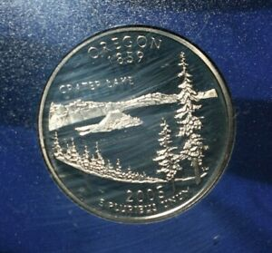 2005 PROOF  OREGON QUARTER FROM U S MINT 5 COIN PROOF SET
