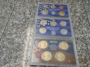 2008 S UNITED STATES MINT 14 COIN PROOF SET