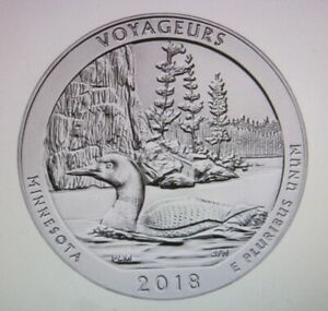 Click now to see the BUY IT NOW Price! ATB 5 OZ. .999 SILVER   2018 VOYAGEURS   1 ROLL OF 10 COINS.