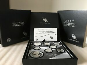 Click now to see the BUY IT NOW Price! 2017 S MINT LIMITED EDITION SILVER PROOF SET WITH THE 2017 S PROOF EAGLE   17RC