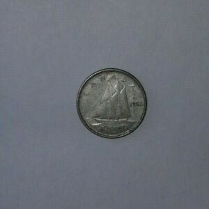 1952 CANADIAN SILVER DIME