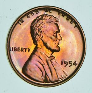 1954 LINCOLN WHEAT CENT   PROOF  4892