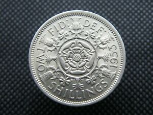 TWO SHILLING COINS   BETTER GRADES   1947 TO 1967   PICK YOUR COIN      OS01