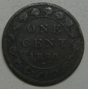 1890 H CANADA LARGE CENT TAKE A LOOK