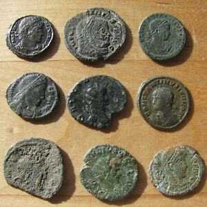 Click now to see the BUY IT NOW Price! NINE NICE ANCIENT ROMAN COINS