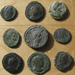 Click now to see the BUY IT NOW Price! NINE ROMAN IMPERIAL AND PROVINCIAL BRONZES   SHARP VRBS ROMA
