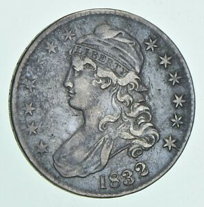 1832 CAPPED BUST HALF DOLLAR  5598