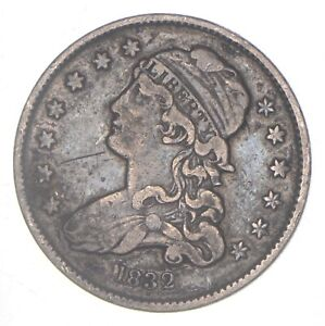 1832 CAPPED BUST QUARTER  6255